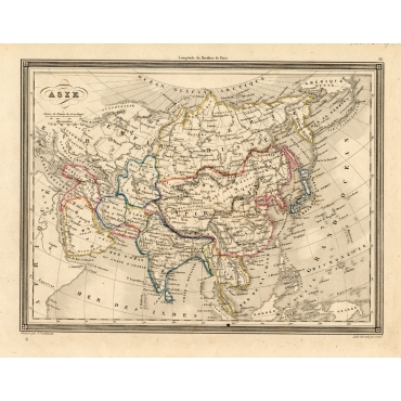 Asie - Vuillemin (1846)