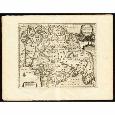 Royaume de Grand Mogol (..) - Van der Aa (1725)