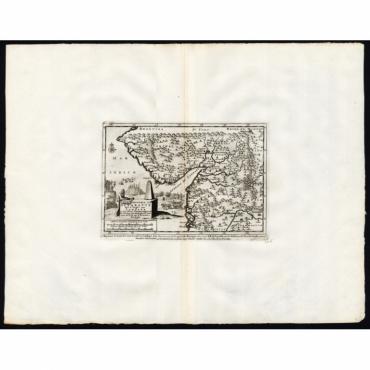 Koninkryk van Guzaratte met d'engte van Cambaya (..) - Van der Aa (1725)