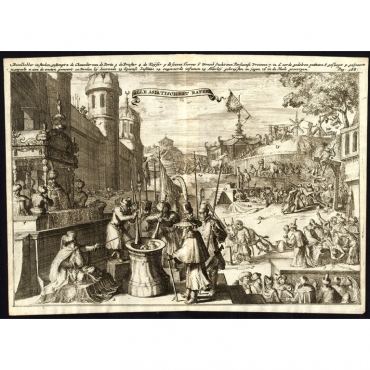 Alle Asiatische straffen - De Hooghe (1682)