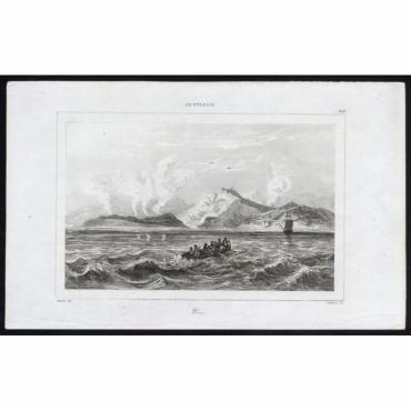 Pl.279 Vue Australie - Rienzi (1836)