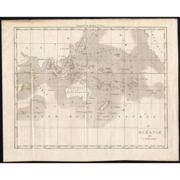 Oceanie par G.L.Dy. De Rienzi - Rienzi (1836)