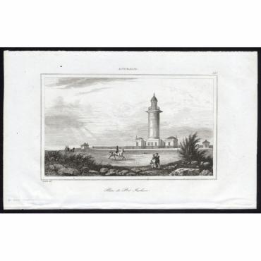 Pl.257 Phare du Port Jackson, Australie - Rienzi (1836)