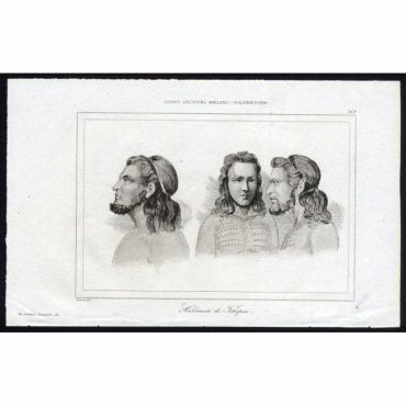 Habitants de Tikopia - 301, Grand Archipel Melano-Polynesien - Anonymous 1836