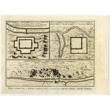 Lan-Tcheou ou Lan-Chew dan la province Chensi (..) - Bellin (1758)