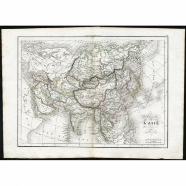 Carte de l'Asie - Anonymous (1840)