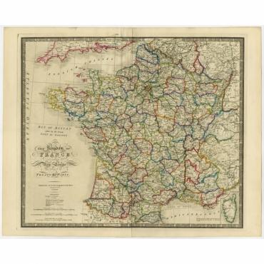 The Kingdom of France (..) - Wyld (1854)