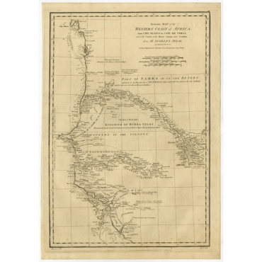 Particular Map of the Western Coast of Africa (..) - Bowen (1788)