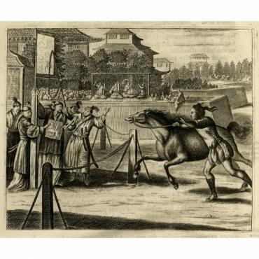 Japansche Ren-baanen - Montanus (1669)
