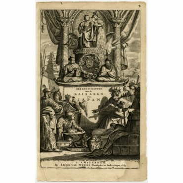 Gesantschappen aen de Kaisaren van Iapan - Montanus (1669)