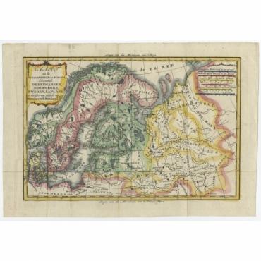Kaart van het Noorderdeel van Europa (..) - Bonne (1785)