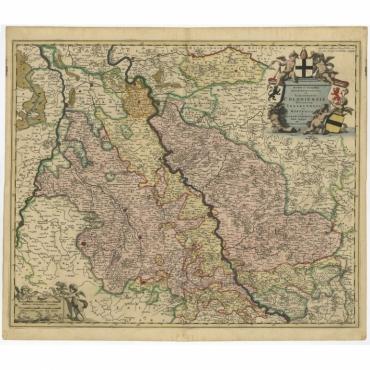 Novissima et Accuratissima Archiepiscopatus (..) - De Wit (c.1680)