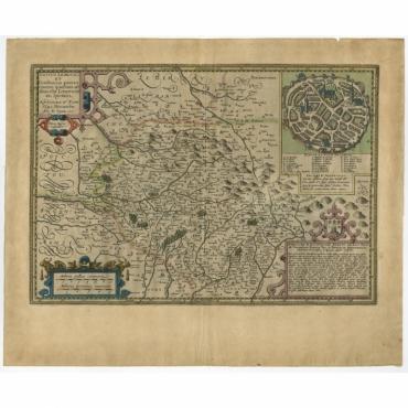 Totius Lemovici et Confinium (..) - Kaerius (c.1600)