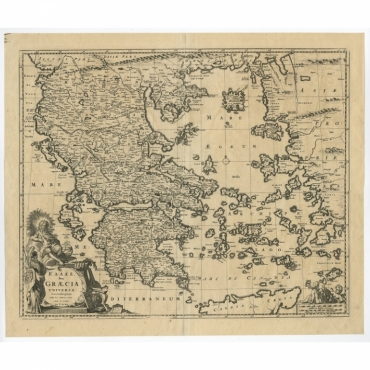 Hellas seu Graecia Universa -  De Wit (1680)