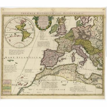 Theatrum Historicum pars Occidentalis - De l'Isle (c.1745)