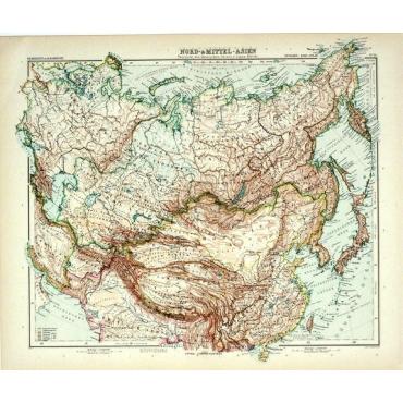 Pl.56 Nord- und Mittel-Asien - Stieler (1905)