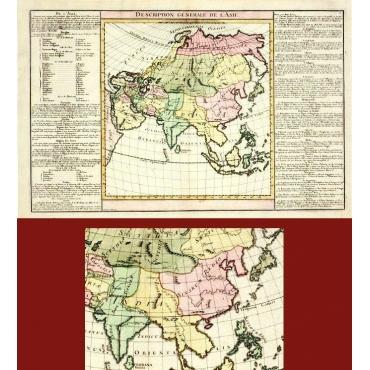 Description générale de l'Asie - Unknown (c.1805)