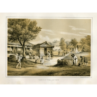 Temple at Tumai - Heine (1857)