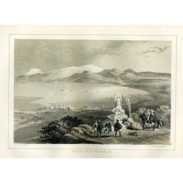 Hakodadi from Telegraph Hill - Heine (1857)