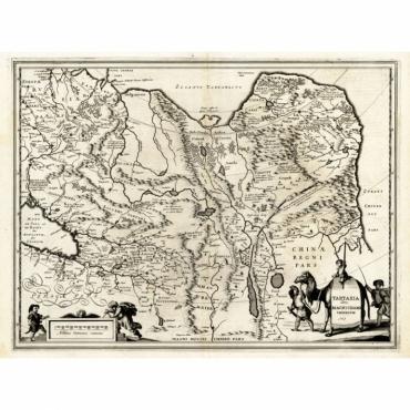 Tartaria sive Magni Chami Imperium - Hondius (1633)