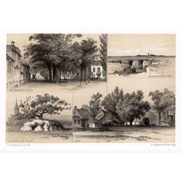 Views of Assen, Rolde and Eext - Craandijk (1888)