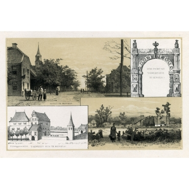 Views of Hengelo and Driene - Craandijk (1888)