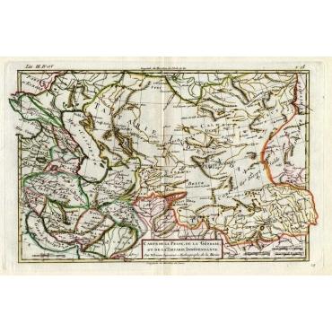 Carte de la Perse, de la Georgie et de la Tartarie - Bonne (1780)