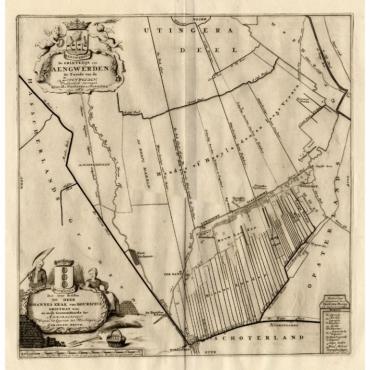 De Grietenije van Aengwerden, de tweede van Zevenwolden - Halma (1718)