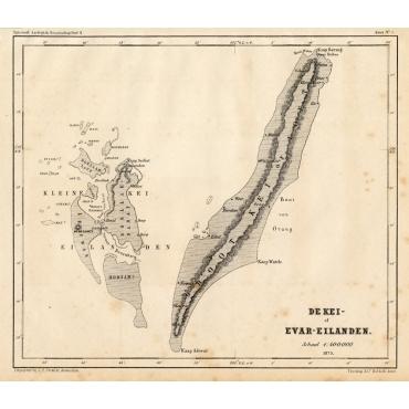 De Kei- of Evar eilanden - Stemler (1875)