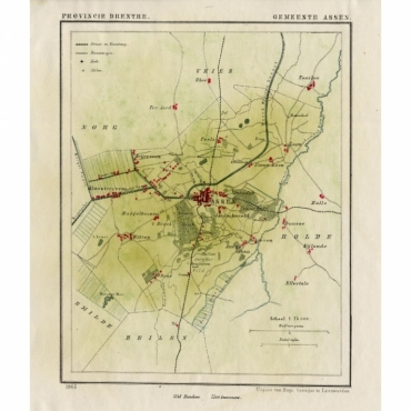 Gemeente Assen - Kuyper (1865)
