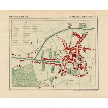 Gemeente Assen (No.2) - Kuyper (1865)