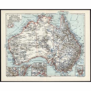Australien - Meyers (1885)
