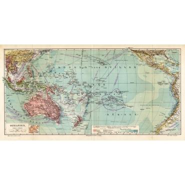 Ozeanien - Meyers (1895)