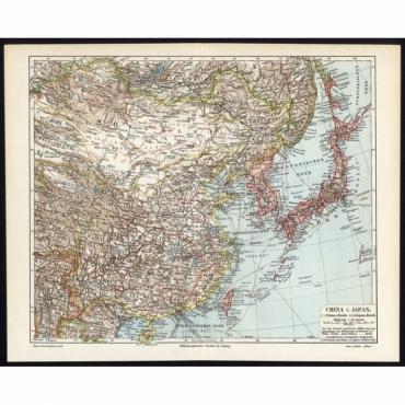 China und Japan - Meyers (1902)