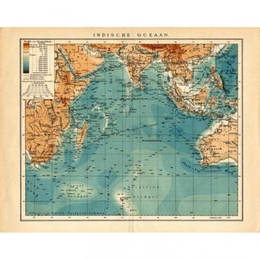 Indische Oceaan - Meyers (1895)