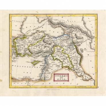 Turkey in Asia - Oliver & Boyd (1841)