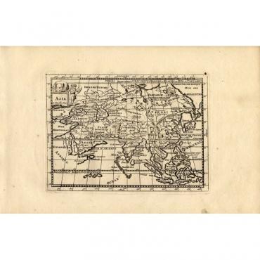 Map 4. Asia - De la Feuille (1753)
