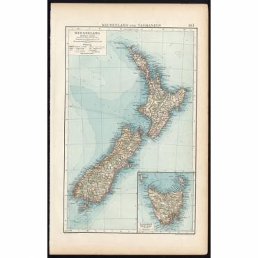 Neuseeland und Tasmanien - Andree (1904)