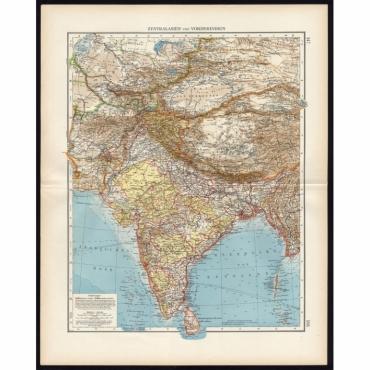 Zentralasien und Vorderindien - Andree (1904)