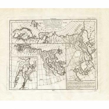Nouvelle Representation des Cotes Nord et Est de L'Asie - Diderot (1751)