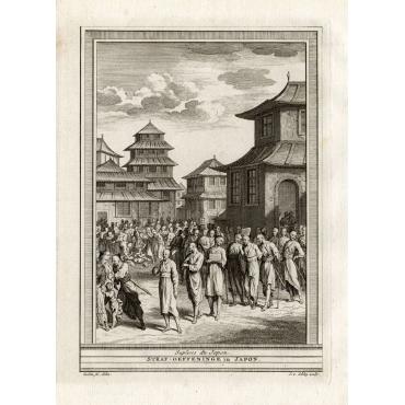 Suplices du Japon - Van Schley (1750)