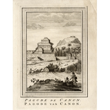 Pagode van Canon - Van Schley (1750)