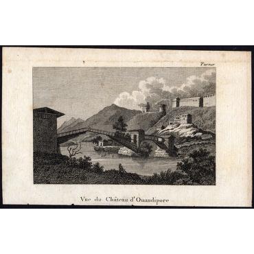 Vue du Chateau d'Ouandipore - Prévost (1802)