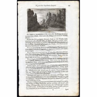 Mountaines of Sang-Won-Hab - Nieuhof (1673)
