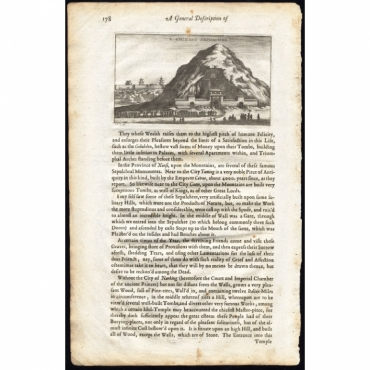 A Chinese Sepulcher - Nieuhof (1673)