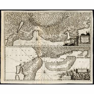 Description exacte et fidele des villes, bourgs et villages (..) - Van der Aa (1725)