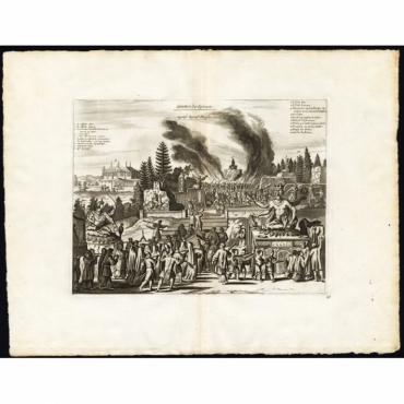 Cimetiere des Japonais/Japanse Begraaf Plaetsen - Van der Aa (1725)