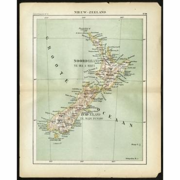 Pl.98 Nieuw Zeeland - Kuyper (1880)