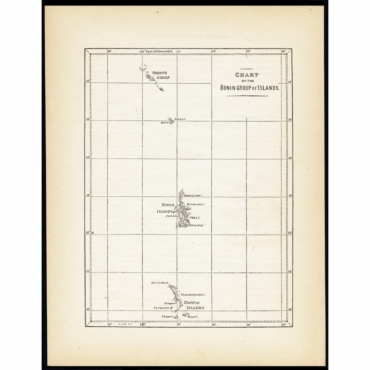 Chart of the Bonin Group of Islands - Hawks (1856)