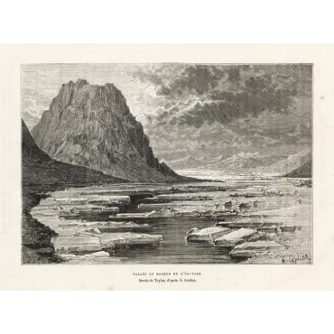 Vallee et Rocher de L'Ak-Tach - Reclus (1881)